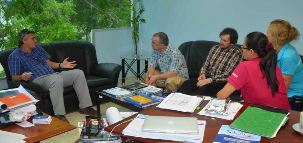 Visita de Profesores de la Universidad de Gante - Bélgica