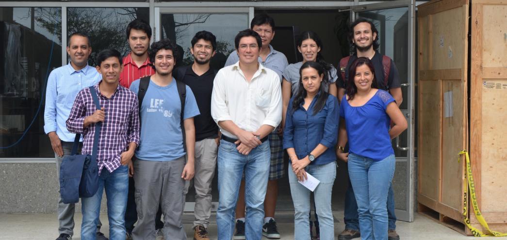 Visita del Dr. Dennis Romero e investigadores del CIDIS