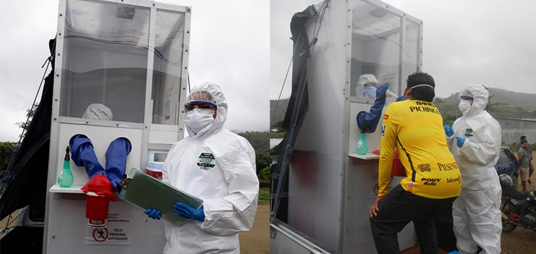 El CENAIM de la ESPOL enfoca sus capacidades tecnológicas y de análisis molecular hacia las víctimas de la pandemia