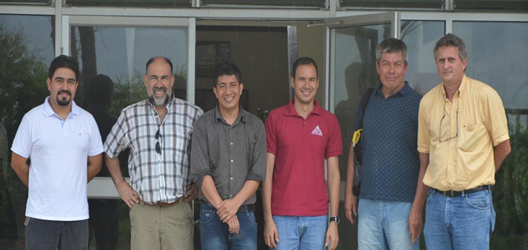 Visita de Profesores de la Universidad Católica del Norte y Valparaiso - Chile