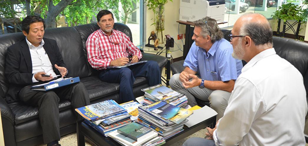 PRESIDENTE DE JICA - ECUADOR EN CENAIM
