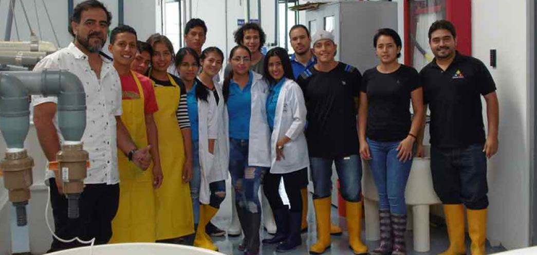 Viaje al ITSLAM en Jaramijó 2018